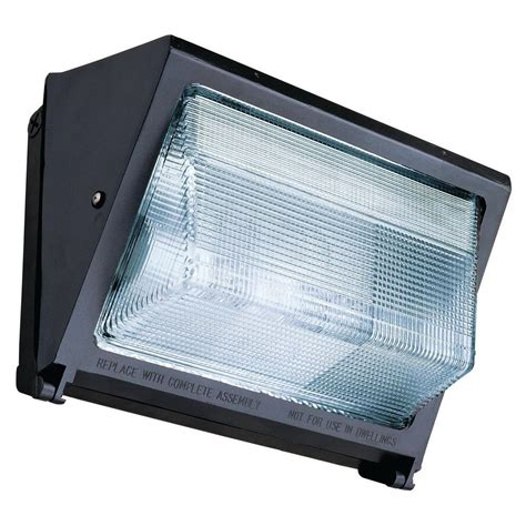 Metal Halide Outdoor Lights Lithonia Lighting 150 Watt Outdoor Bronze Metal Halide Wall Pack Twr1 150m Tb Lpi The Home Depot