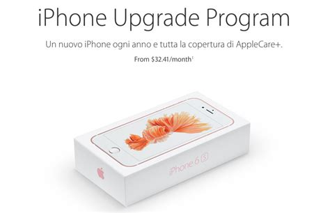 Program Pos Upgrade iphone upgrade program abbonamento iphone iphone nuovo