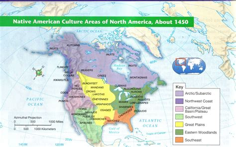 american tribal areas map u s geography mrstpierre 3 0