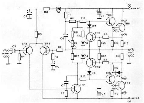 2n3055 transistor lifier schematic black widow audio hifi 60 watt lifier high quality solid state audiophile