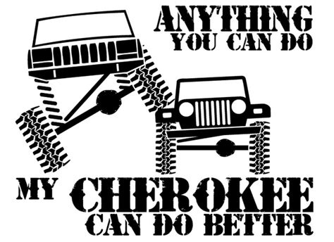 cartoon jeep cherokee what stickers are you rockin page 9 jeep cherokee forum