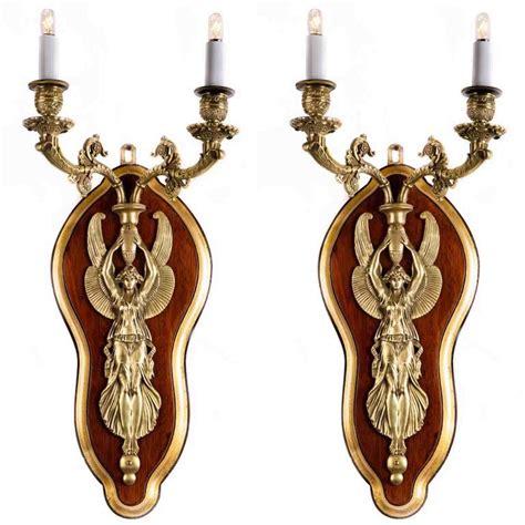 applique antiche coppia di applique antiche in bronzo napoleone iii