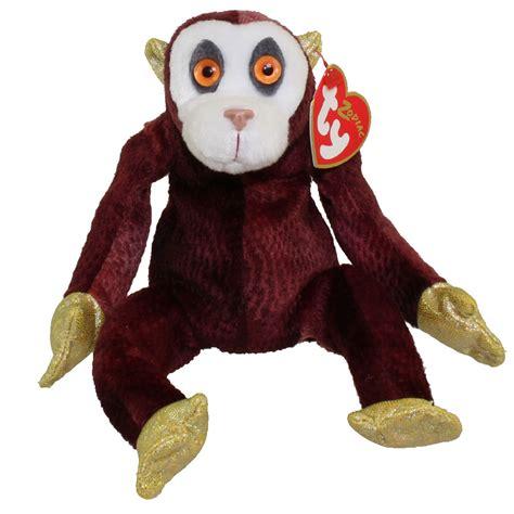 new year monkey plush ty beanie baby the monkey zodiac 5 inch