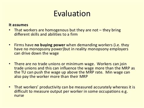 No Determination Essays by Wage Determination Essay