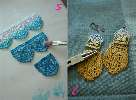how to make lace jewelry diy ombre lace jewelry grace