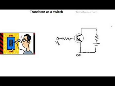 transistor bjt switch electronics using an npn transistor as a switch doovi
