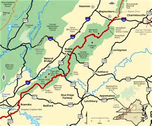 blue ridge parkway va northern section america s byways