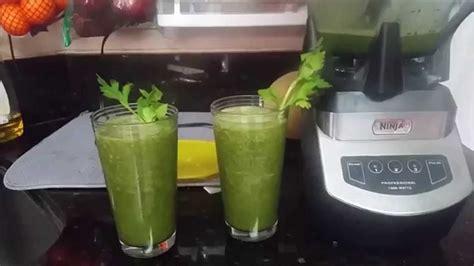 Como Hacer Un Jugo Verde Detox by Como Hacer Jugo Verde Detox