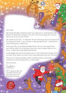 Charity Letter From Father Christmas letter from santa make a child s christmas and help the nspcc