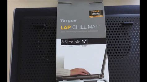 targus chill mat review laptop cooling pad