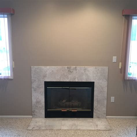 Concealed Tv Fireplace by Tv Mounting A Fireplace With Wires Concealed In The