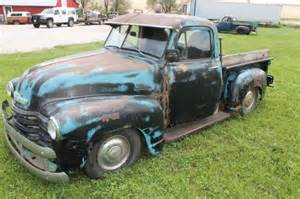 1953 chevy truck patina rat rod chassis 47 48