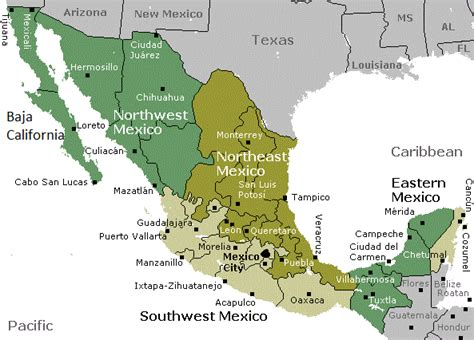 map mexico airports pin mexican airports map see details from mexicochannelnet