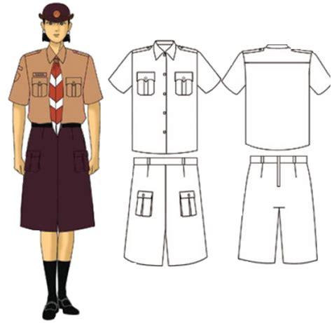 Foto Baju Pramuka Penggalang Putri pakaian seragam penggalang putri pramuka kumpulan soal ujian terbaru