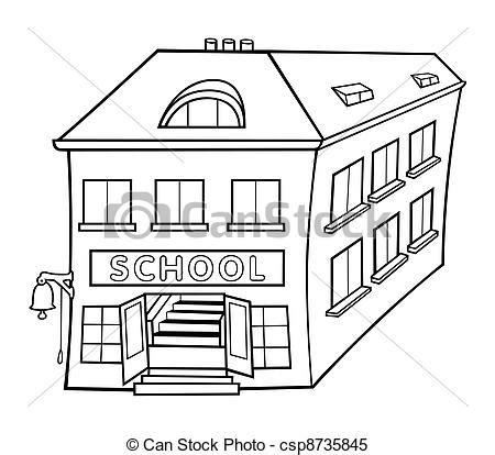 Banc école Maternelle by 201 Cole Illustration Vecteur Noir Blanc Dessin Anim 233