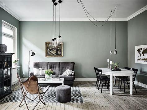 Vert Gris Couleur by Murs Vert De Gris Salon S 233 Jour Living Room Decor