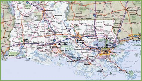 louisiana map louisinia map 100 more photos