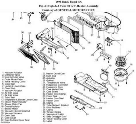 automobile air conditioning service 1998 buick regal engine control car ac actuator car repair manuals and wiring diagrams