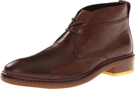 chukka boot cole haan mens air colton winter chukka boot in brown for