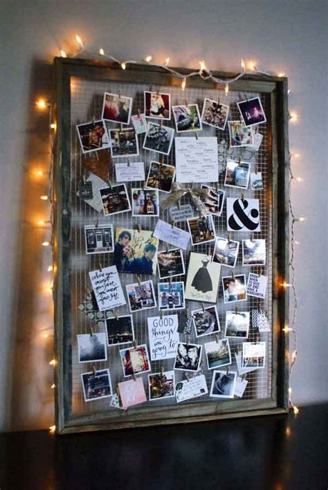 photo board ideas 41 diy ideas to brilliantly reuse old picture frames into