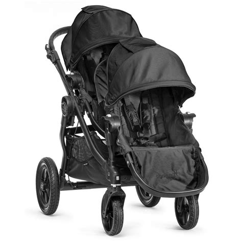 baby jogger select second seat black buy baby jogger city select stroller set with second