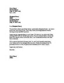Patient Complaint Follow Up Letter Image Complaint Follow Up Letter Sle