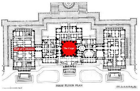 Floor Plan Of The Us Capitol Building | us capitol building architecture and design architect boy