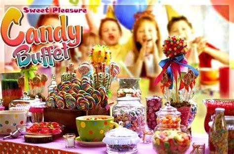sweet pleasure candy buffet promo