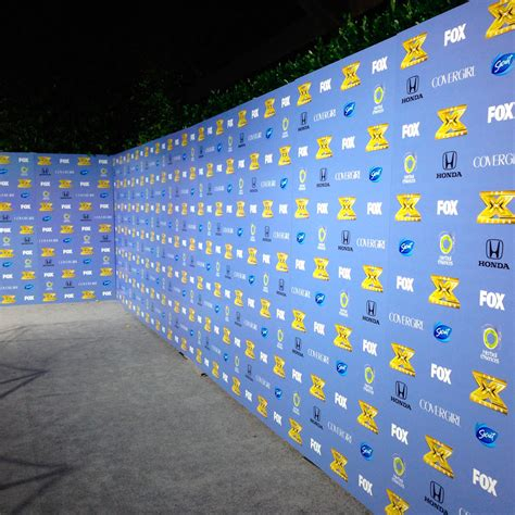 how to design backdrop banner event step and repeat backdrop vinyl banner photo