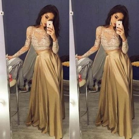 gold and white prom dresses 2017