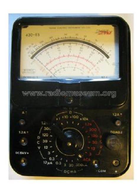 Multimeter Sanwa Cx506a pics for gt sanwa analog multimeter