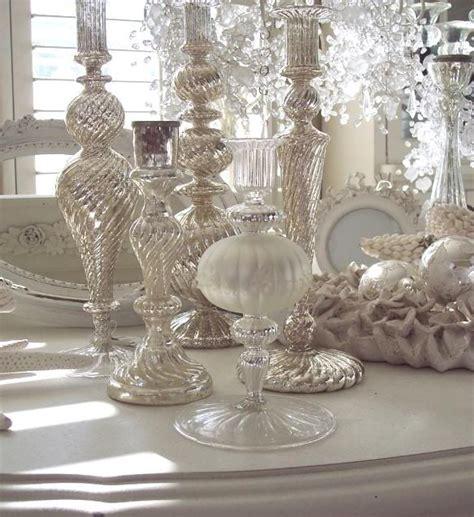mercury glass home decor farmhouse pom pom wreath cozy christmas cottage mercury