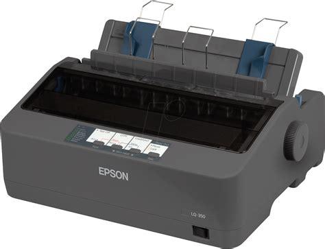 Printer Epson E400 epson lq 350 24 dot matrix printer parallel serial usb at reichelt elektronik