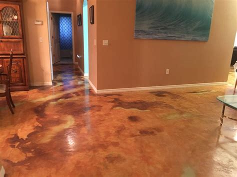 acid stain concrete colors how to acid staining concrete floors directcolors