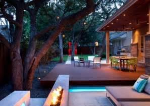 Patio Retreat Ideas Pit Ideas Patio Landscape Contemporary With Backyard