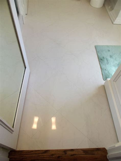 looks like marble really porcelain tile in this bathroom the porcelain tile that looks like marble which offers the