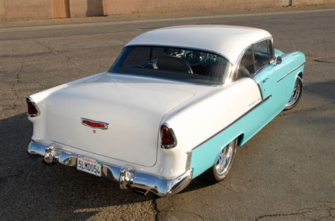 cool zz crate engine powered  chevy bel air resto mod