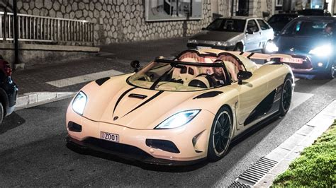 koenigsegg monaco cream and purple koenigsegg agera r in monaco loud