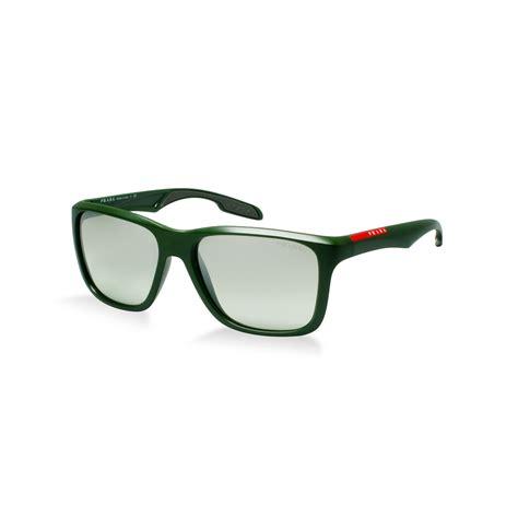 prada linea rossa ps 04os sunglasses in black for