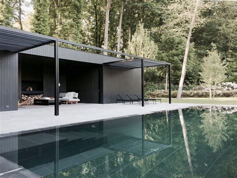 simple yet elegant house design cd pool house simple yet elegant space for relaxation marc merckx interiors
