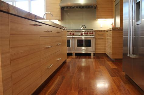 horizontal grain kitchen cabinets horizontal grain modern kitchen san francisco by