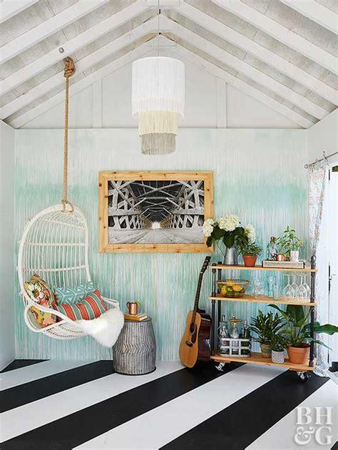 shed makeover  homes gardens