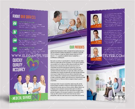 25 medical brochure templates free premium download