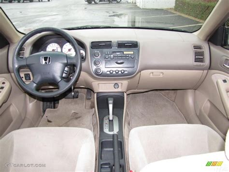 Honda Civic 2002 Interior by Beige Interior 2002 Honda Civic Lx Sedan Photo 42136427 Gtcarlot