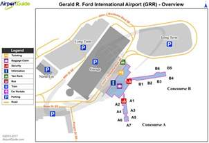 Directions To Ford Grand Rapids Gerald R Ford International Grr Airport