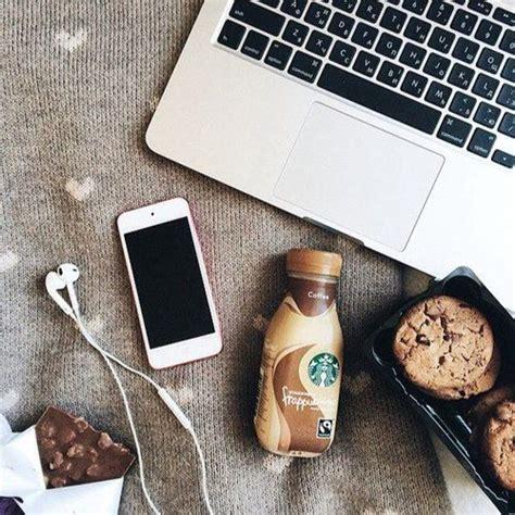 Starbucks Coffee Iphone All Hp coffee time chocolate iphone laptop starbucks cookies sunday vintage