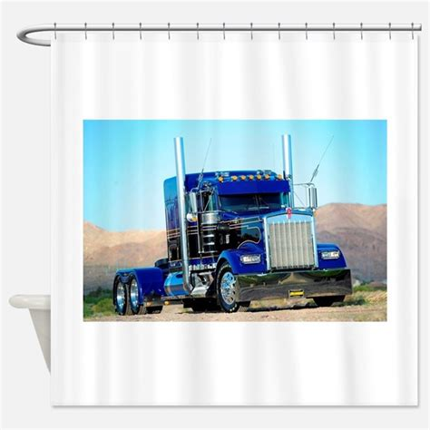 curtains for trucks semi truck shower curtains semi truck fabric shower