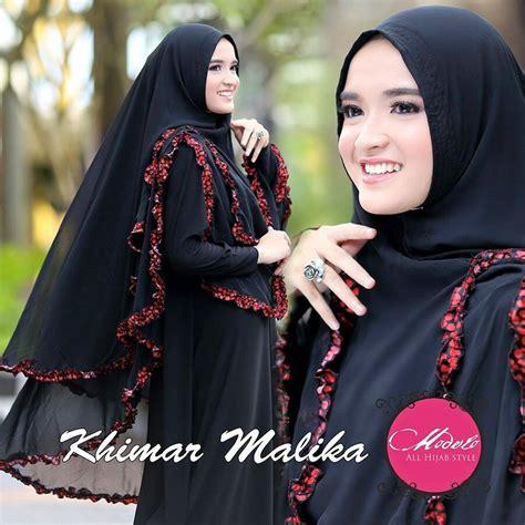 Malika Khimar khimar malika by modhelo pusat grosir jilbab modern