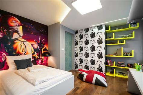 wars bedroom paint ideas cool boys room paint ideas for colorful and brilliant interiors