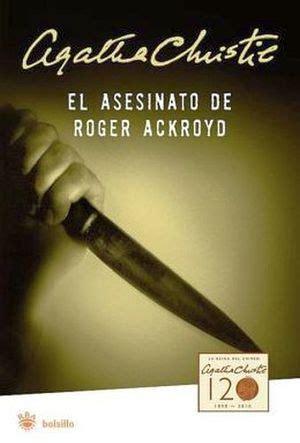 libro el asesinato de roger asesinato de roger ackroyd el bolsillo christie agatha 9788492966660